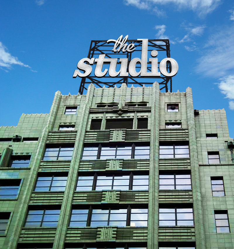 the studio building